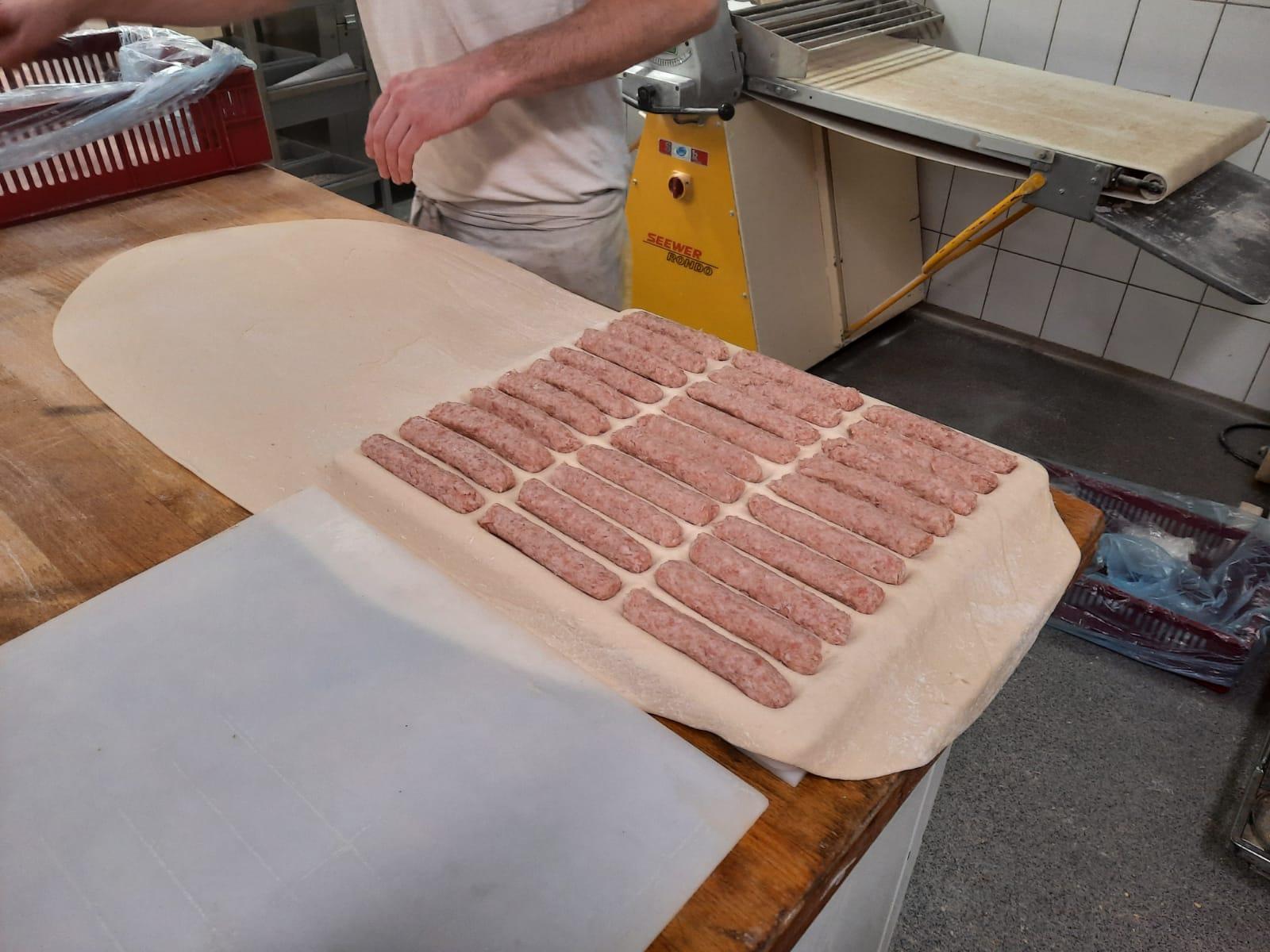 produktie worstenbrood
